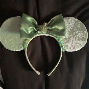 Tinker bell inspired Minnie mouse ears